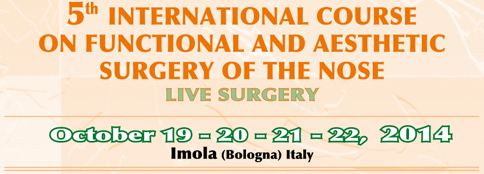 5th INTERNATIONAL COURSE ON FUNCTIONAL AND AESTHETIC SURGERY OF THE NOSE